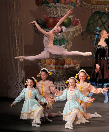 New York City Ballet's George Balanchine The Nutcracker is at the David H. Koch Theater in Lincoln Center from November 23 – December 30, The Nutcracker Most ballet companies in the United States do Nutcracker productions because it is the big ballet moneymaker.