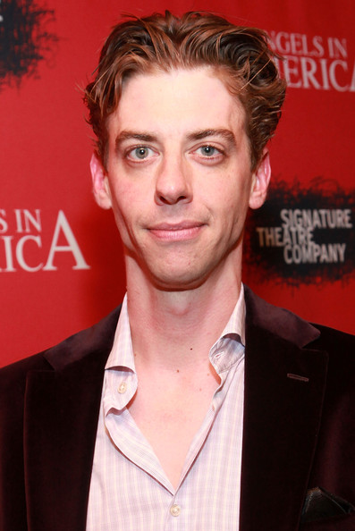 Christian Borle at the Angels in America opening